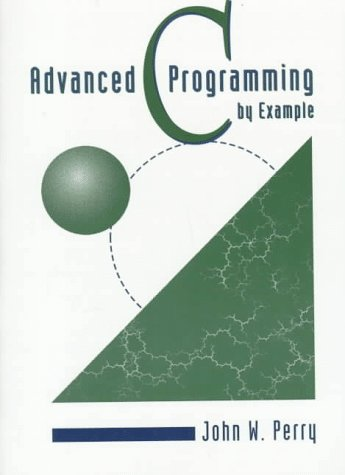 9780534951405: Advanced C Programming by Example