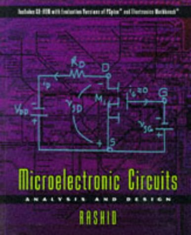 9780534951740: Microelectronic Circuits: Analysis and Design