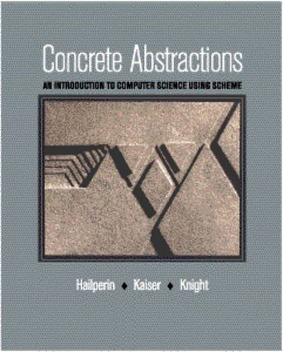 9780534952112: Concrete Abstractions: An Introduction to Computer Science Using Scheme