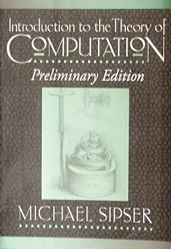 9780534952501: Introduction to the Theory of Computation (Pws Series in Computer Science)