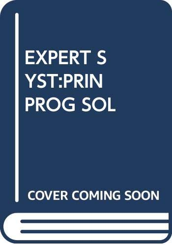 9780534952969: EXPERT SYST:PRIN PROG SOL