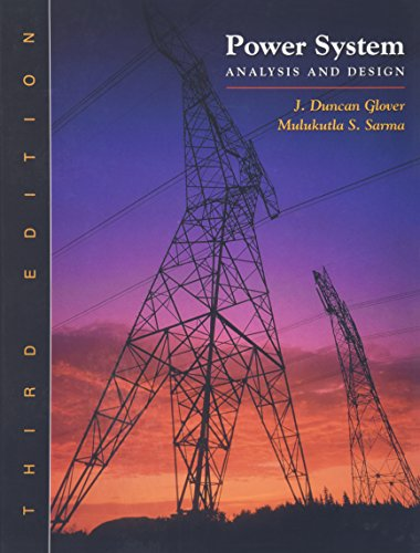 9780534953676: Power System Analysis and Design (with CD-ROM)