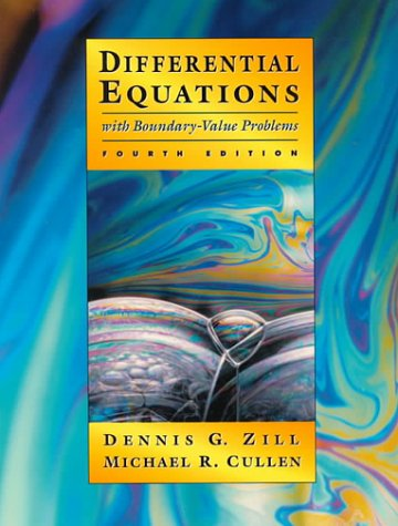 9780534955809: Differential Equations with Boundary-Value Problems