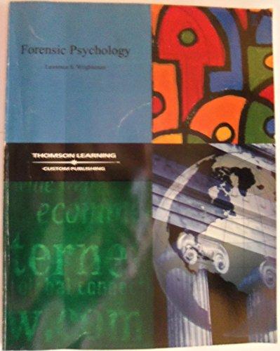 9780534964900: Forensic Psychology