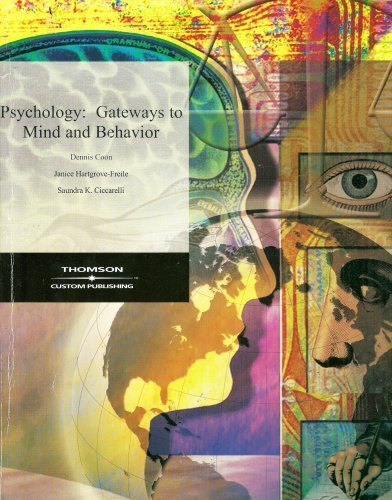 Psychology: Gateways to Mind and Behavior: Dennis Coon