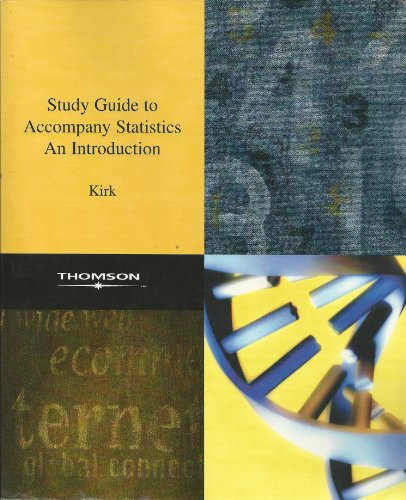 9780534968984: Statistics: An Introduction (Study Guide)