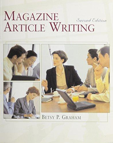 9780534970048: Magazine Article Writing