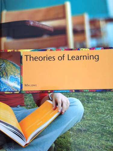9780534971496: theories of learning a historical approach