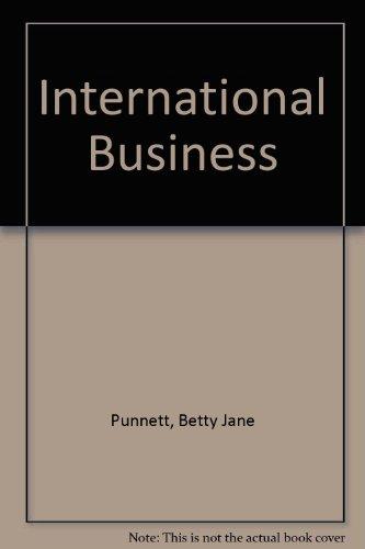 9780534972066: International Business
