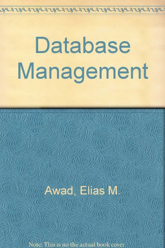 9780534972561: Database Management