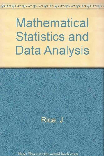 9780534980689: Mathematical Statistics and Data Analysis