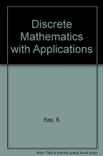 9780534981990: Discrete Mathematics with Applications