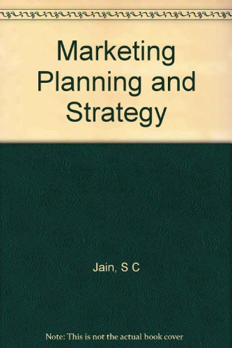 9780534982249: Marketing Planning and Strategy