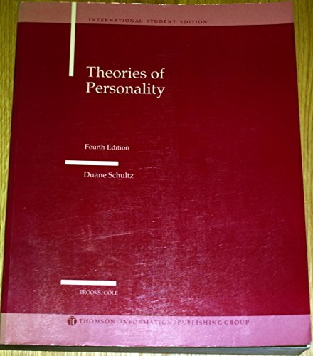9780534983604: Theories of Personality