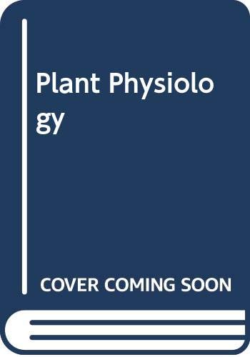 9780534983901: Plant Physiology