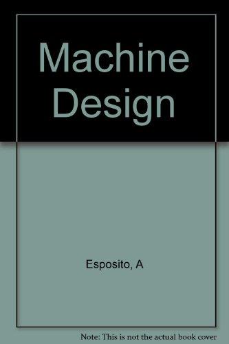 9780534984366: Machine Design