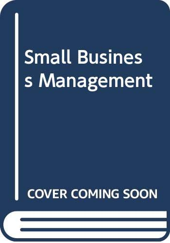9780534985226: Small Business Management