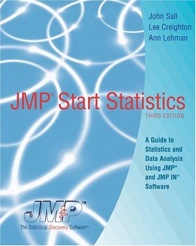 9780534997496: JMP Start Statistics, Book Only