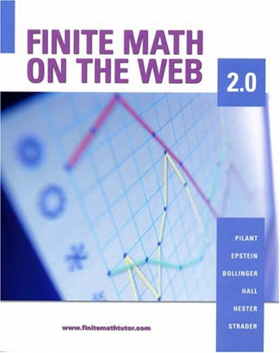 9780534997571: Finite Math on the Web 2.0 (with CD-ROM)