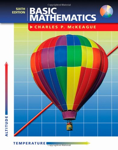 9780534998189: Basic Mathematics (with CD-ROM and iLrn™ Tutorial) (Available Titles CengageNOW)