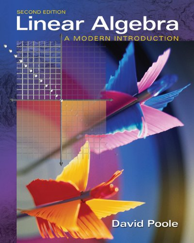 9780534998455: Linear Algebra: A Modern Introduction (with CD-ROM) (Available Titles CengageNOW)