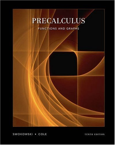 9780534999902: Precalculus: Functions and Graphs