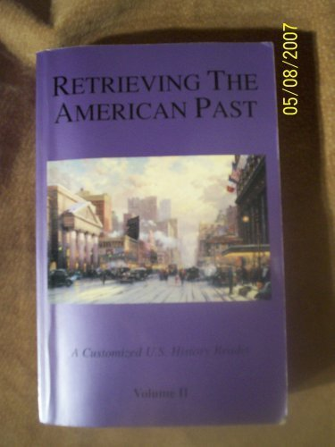 9780536001429: Retrieving the American Past