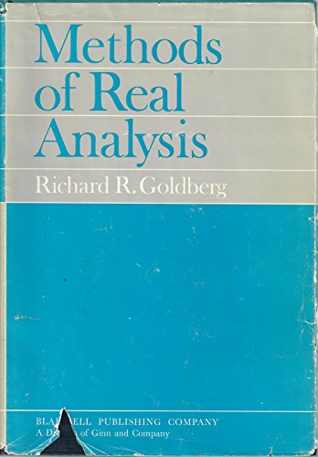 goldberg richard r - methods of real analysis - AbeBooks