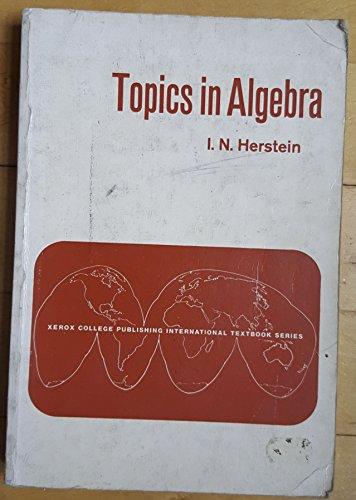 9780536002587: Topics in Algebra