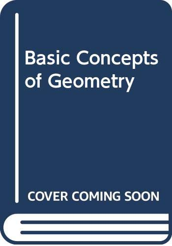 9780536004475: Basic concepts of geometry