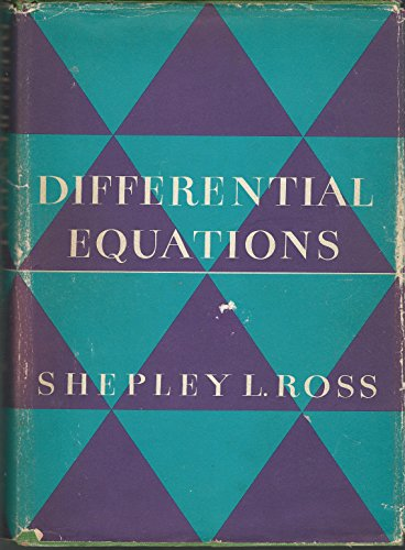 Differential Equations: Ross, Shepley L.