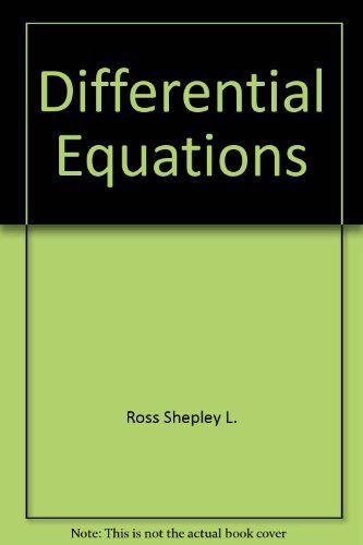 9780536009302: Differential equations