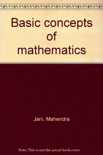 9780536015617: Basic concepts of mathematics