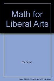 9780536015884: Math for Liberal Arts