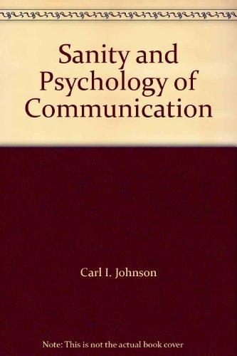 9780536018687: Sanity and Psychology of Communication