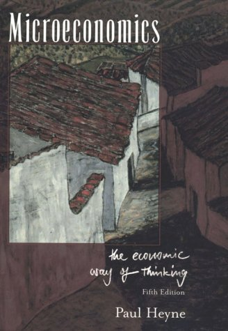 9780536019073: Microeconomics: Economic Way of Thinking