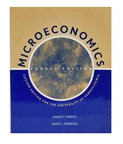 9780536023629: Microeconomics: University of Pennsylvania