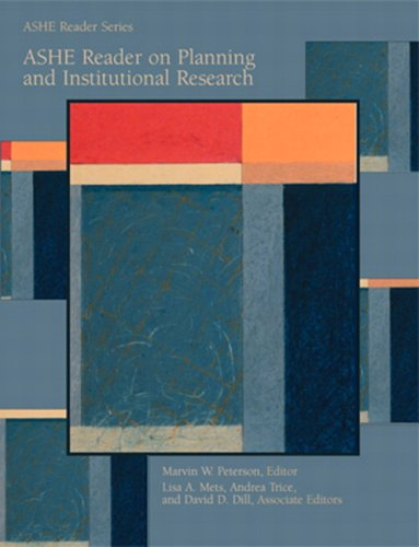 ASHE Reader on Planning and Institutional Research - Association for the Study of Higher Education, Marvin W. Peterson