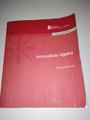9780536045027: Intermediate Algebra (Second Custom Edition)