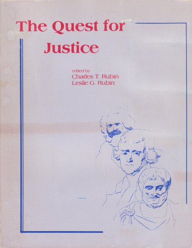 9780536059581: The Quest for Justice