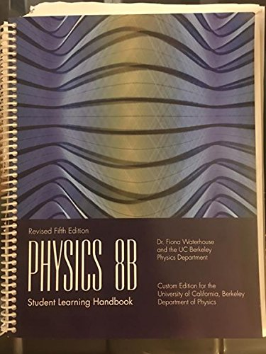 9780536061683: Physics 8B Student Learning Handbook