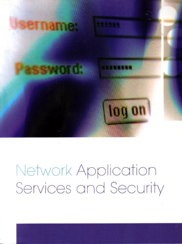 9780536083524: Network Application Services and Security