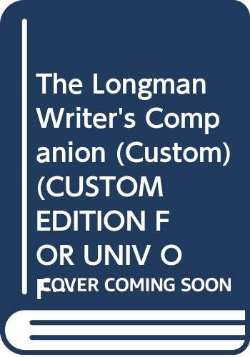 The Longman Writer's Companion (Custom) (CUSTOM EDITION: University of Minnesota