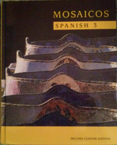 9780536089076: Mosaicos: Spanish 3