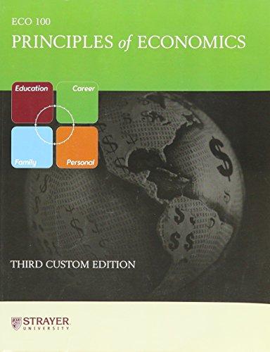9780536090034: Principles of Economics (Strayer University edition)