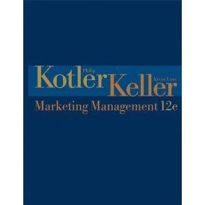 9780536104397: Marketing Management