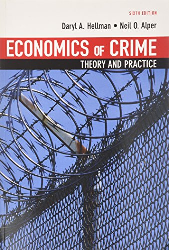 9780536106612: Economics of Crime: Theory and Practice