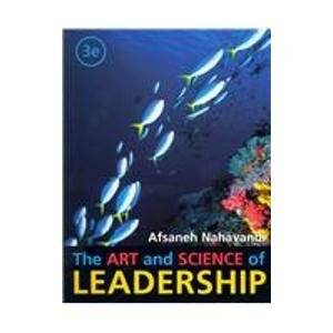 9780536107312: The Art And Science of Leadership