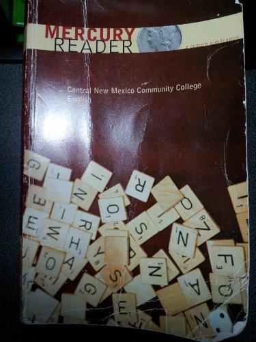 9780536113207: The Mercury Reader