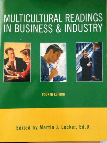 9780536124081: Multicultural Readings in Business & Industry
